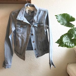 Forever 21 Light Wash Denim Jacket